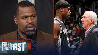 Stephen Jackson on what makes Gregg Popovich a great coach, Spurs future   NBA   FIRST THINGS FIRST