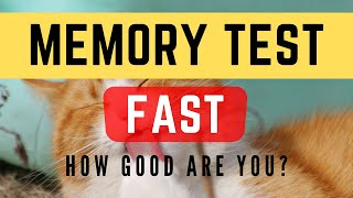 Memory Test #3 - Rapid Memory test