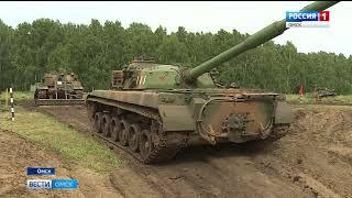 В Омске прошел второй этап военного конкурса «Рембат»