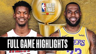 HEAT at LAKERS | FULL GAME HIGHLIGHTS | October 2, 2020