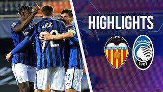 UCL Ro16 2nd Leg Valencia-Atalanta 3-4 | Highlights