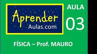 F�SICA - AULA 3 - PARTE 2 - MEC�NICA: MOVIMENTO UNIFORMEMENTE VARIADO