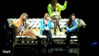 [FANCAM] 20120824 2NE1 - I Don't Care (Reggae Mix Ver.) | Nokia Theatre L.A. Live