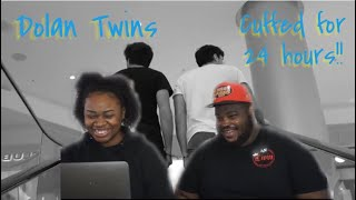 TWINS HANDCUFFED FOR 24 HOURS FT. DOLAN TWINS | REACTION