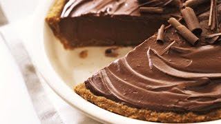 Easy Chocolate Pie | One Pot Chef
