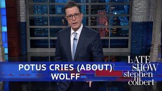 Stephen Bites Into The Juicy New Trump Book