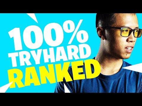 SOLO EN RANKED SUR FORTNITE - 100% TRYHARD ! (SHOWDOWN) +17 KILLS - KINSTAAR GAMEPLAY