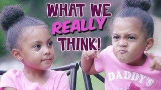 WHAT WE REALLY THINK of our DAD! TWIN TALK