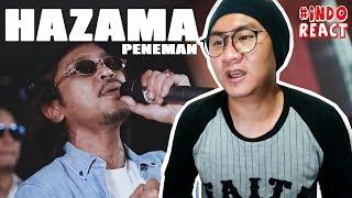 HAZAMA - PENEMAN (LIVE) #INDOREACT