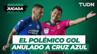 El polémico gol anulado a Cruz Azul.