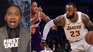 Stephen A. calls out Kobe Bryant for his comments on LeBron James' workload | First Take