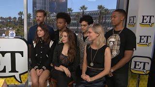 Comic-Con 2019: Legacies Cast (Full Interview)
