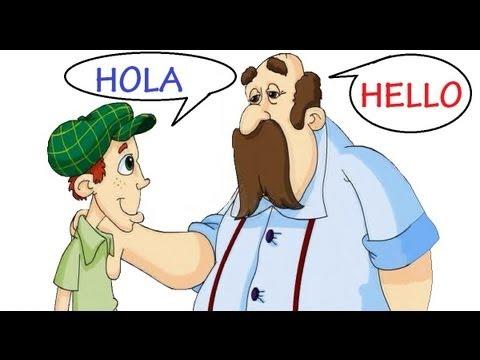 Aprendiendo a saludar. Ingles- Español - YouTube