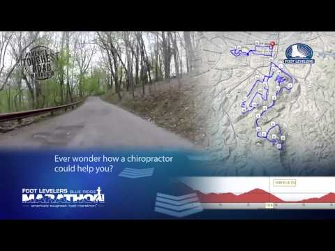 2014 Foot Levelers Blue Ridge Marathon Course