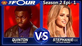 "Stephanie Zelaya vs Quinton Ellis ""Mi Gente"" ""So Sick"" & RESULTS The Four Season 2"