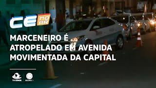 Marceneiro é atropelado em avenida movimentada da Capital