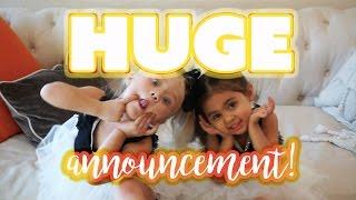 BIG SURPRISE ANNOUNCEMENT!!! with Savannah Soutas & Michelle Foley | ForEverAndForAva