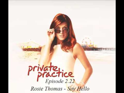 Rosie Thomas - Say Hello