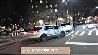 AMERICA'S MOST DANGEROUS CITIES/HOODS AT NIGHT - TOP 10