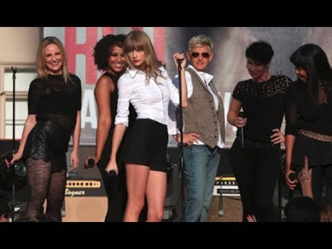 Taylor Swift live - You Belong With Me #  Ellen 2012