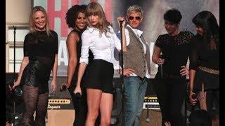 Taylor Swift live - You Belong With Me #  Ellen 2012