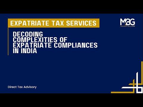 Expatriate Taxation in India