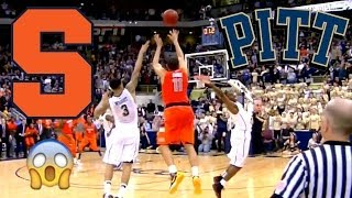 Syracuse Buzzer Beater vs. Pittsburgh (HD)