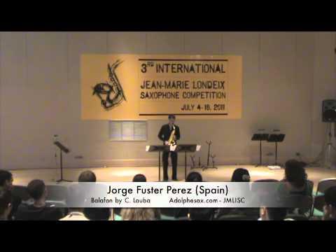 3rd JMLISC: Jorge Fuster Perez (Spain) Balafon by C. Lauba