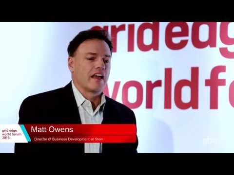 Stem Interviewed at Grid Edge World Forum 2016