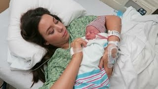 Labor and Delivery Vlog! Welcome Annabelle Rose Johnson!   Hayley Paige Vlogs