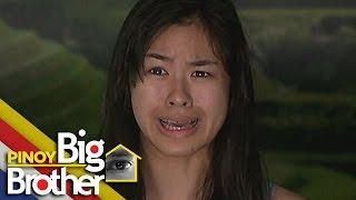 Pinoy Big Brother Season 7 Day 99: Kisses, napasigaw sa kanyang takot