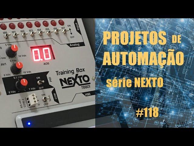 IRRIGADOR TEMPORIZADO COM CLP NEXTO | Projetos de Automação #118