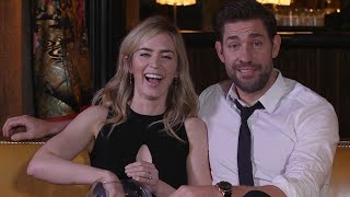 Emily Blunt and John Krasinski Are Couple Goals In Adorable Joint Interview!