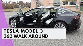TESLA MODEL 3 - 360 WALK AROUND
