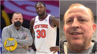 Tom Thibodeau on the New York Knicks' turnaround this season | The Jump