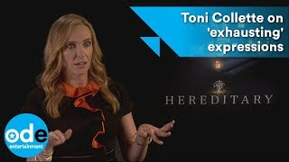 Hereditary: Toni Collette on 'exhausting' expressions