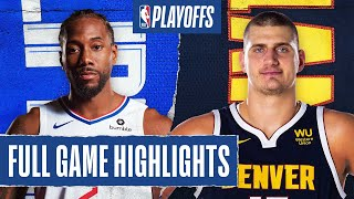 CLIPPERS at NUGGETS | FULL GAME HIGHLIGHTS | September 9, 2020