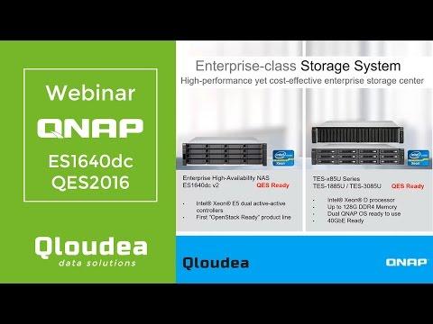 QNAP Enterprise Storage con QES