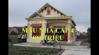 Thăm Quan Mẫu Nhà Cấp 4 Đẹp Diện Tích 8x11m Giá Hơn 400 Triệu Tại Ninh Bình