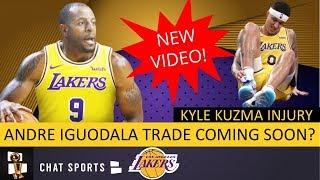 Lakers Trade Rumors: Andre Iguodala Trade Coming Soon? + Injury News On Kyle Kuzma & Avery Bradley
