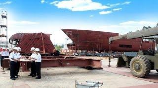X55 vươn lên làm chủ công nghệ đóng tàu hiện đại