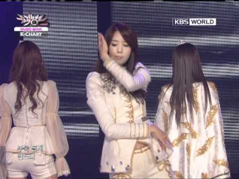[Music Bank K-Chart] 1st week of December & Girls' Generation - The Boys (2011.12.02)