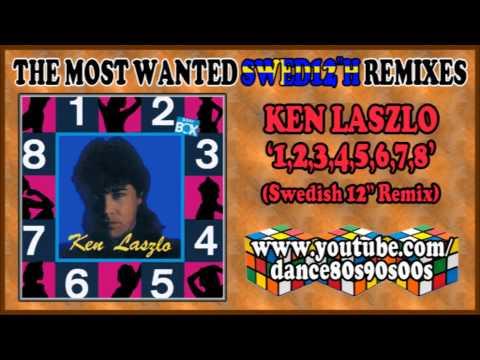 KEN LASZLO - 1,2,3,4,5,6,7,8 (Swedish 12'' Remix)