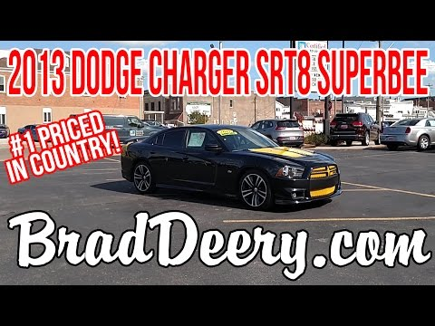 2013 Dodge Charger SRT8 Super Bee SEDAN W/ Remote Start in Maquoketa, IA