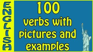 English vocab English verbs with examples and pictures - american english verbs -  انجليزي أفعال