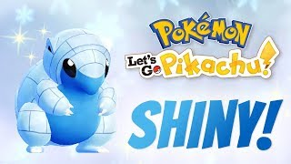 Trading Endlessly to Get a Shiny Alolan Sandshrew in Pokemon Let's Go Pikachu/Eevee