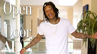 Inside Wiz Khalifa's $4.6 Million L.A. Home | Open Door | Architectural Digest