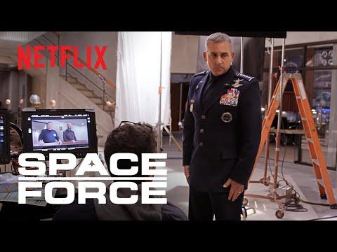 Space Force   Steve Carell Returns to TV Comedy   Netflix Is A Joke