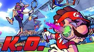 """MTA - """"K.O. EVERYONE IN TOURNAMENT!"""" (Mario Tennis Aces)"""