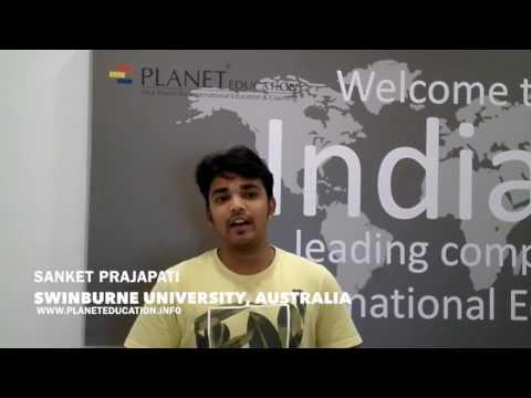 Sanket P | Student Of Swinburne University Australia